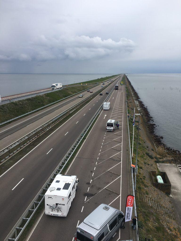 Digue de Afsluitdijk - Hollande