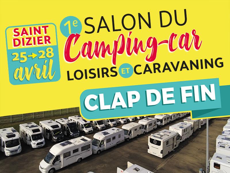 Clap de fin au salon du camping-car de St-dizier