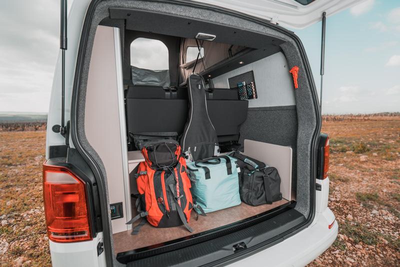 Coffre d'un van Stylevan - CLC