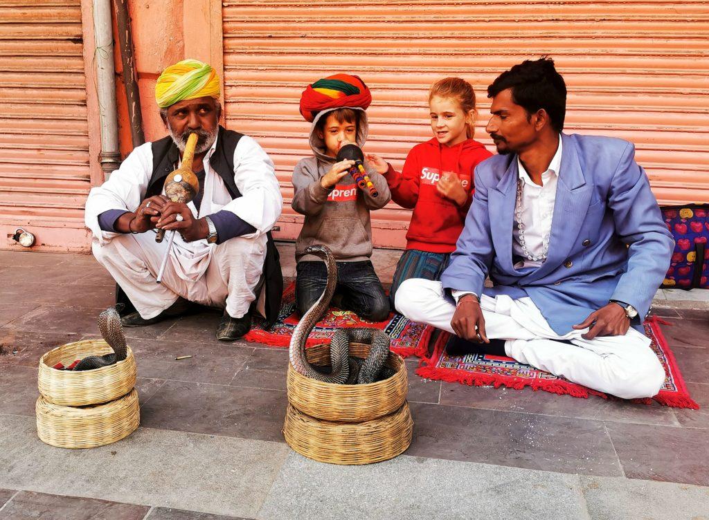 un instant de vie à New delhi