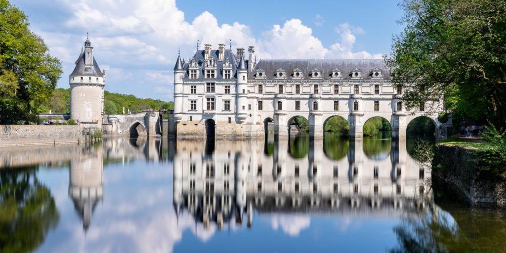 Direction les châteaux de la Loire en camping-car