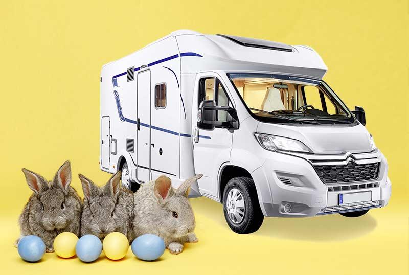 Pâques Camping-car