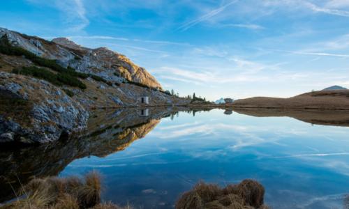 Le lac de Payolle en camping-car